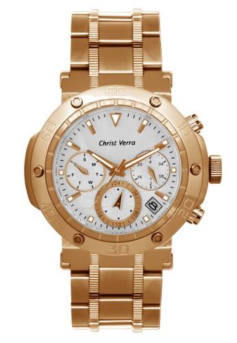 Christ Verra gold Christ Verra Women's Watches CV 52283L-15 SLV ABCCEACE21C3A4GS_1