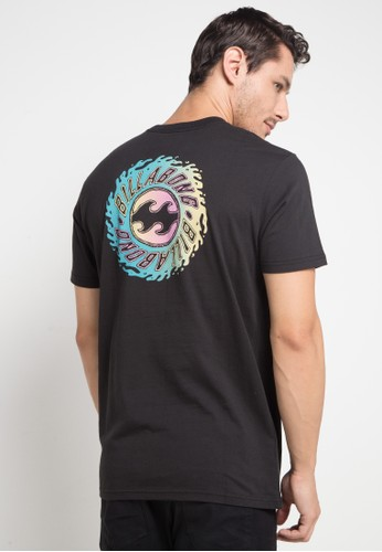 Billabong black Ooze Tee 7ABA8AA50B86B3GS_1