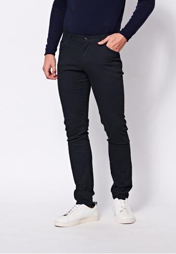Sisley grey Slim Fit Pants. D102EAA2A9EE57GS_1