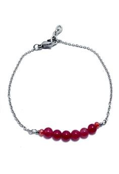 Wish Bracelet Rubellite