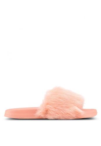 Rubi pink Wild Slide Sandals 7393ESH8539B69GS_1