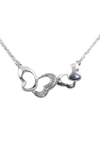 Venice Jewelry silver Ginevra Necklace VE564AC36KKXPH_1