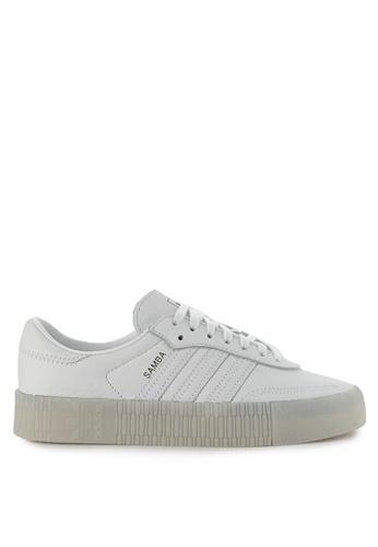 sale retailer a869b 54cd8 adidas white adidas originals sambarose w AE54ASH6908B98GS1