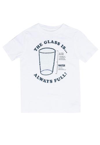 GAP white Kids Interactive Graphic T-Shirt 07D79KA0A1F1A5GS_1