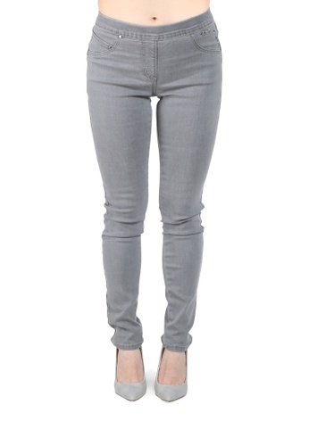 London Rag grey Grey Slim fit Jeggings EBB4BAA44C6DD4GS_1