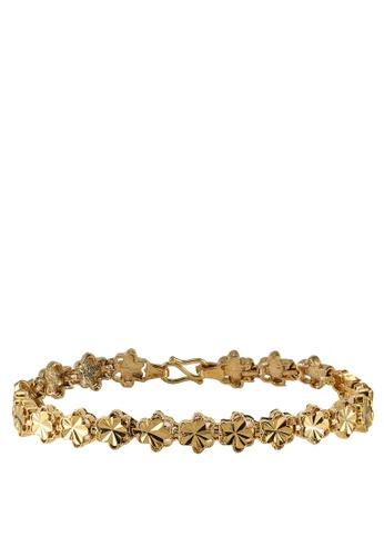 Megane gold Seri Gold Plated Bracelet 644BAAC64AD954GS_1