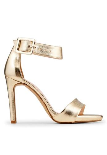 Minelli gold F93 862/MET Metallic Ankle Strap Heels - Oceane MI352SH65MFESG_1