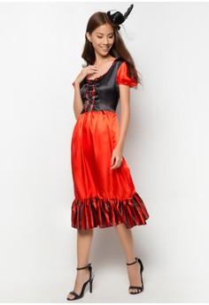 Karnival Saloon Girl Costume Adult