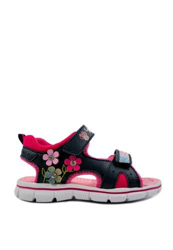 Mickey navy Minnie Sandal MK63-040 D0FCCKS2AAD7B5GS_1