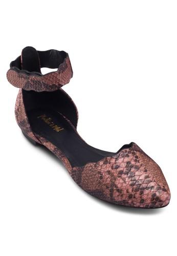 暗紋尖頭平底涼鞋, 女鞋esprit品牌介绍, 鞋