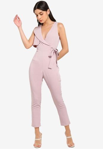 Lavish Alice pink Storm Flap Jumpsuit D915CAA558C69EGS_1