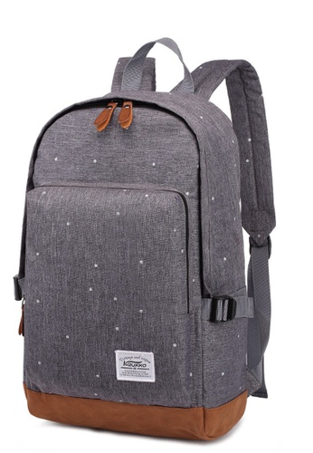 Shop All Things New Kaukko Classic Heritage Oxford Fabric Backpack Online  on ZALORA Philippines c27312e6c1