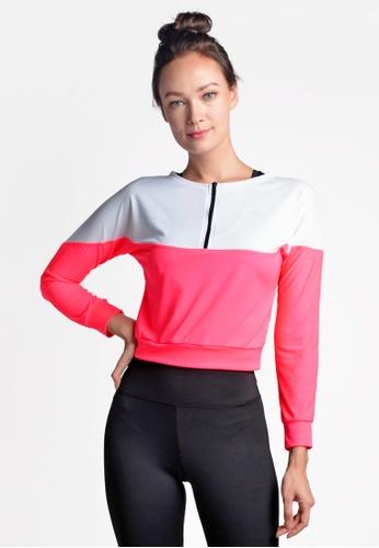 ViQ pink ViQ Workout Jacket DECA6AA69F80F8GS_1