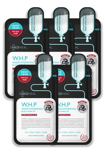 Mediheal blue Mediheal W.H.P White Hydrating Black Mask (x5 sheets) E4349BEFD9C6DFGS_1
