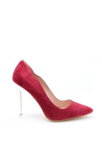 PRODUIT PARFAIT 雙色尖頭高踭鞋 DEDB8SH6F46380GS_1