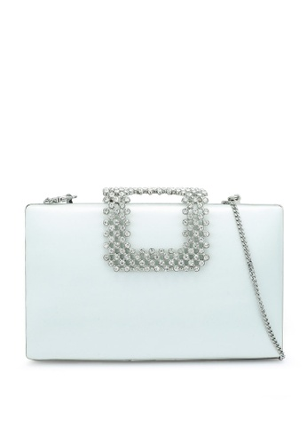 Forever New green Hope Crystal Clasp Clutch B1422AC82B143BGS_1