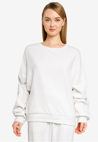 GAP 灰色 Vintage Soft 圓領Sweatshirt 858A6AAD72FB55GS_1