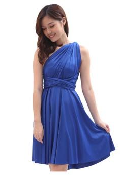 77d4bf7912 COVETZ Wedding blue Kaelyn Convertible Dress - Royal Blue CO611AA83AAYMY 1