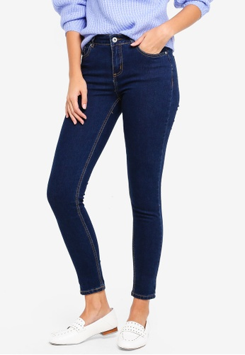 Factorie blue The Mid-Rise Skinny Jeans 4FF29AA56B3E4AGS_1