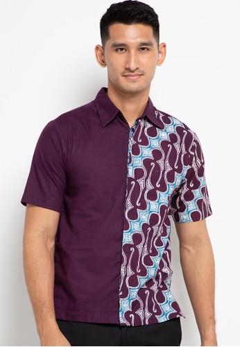 Krisna Batik purple Aswangga Shirt D8553AA8695821GS_1