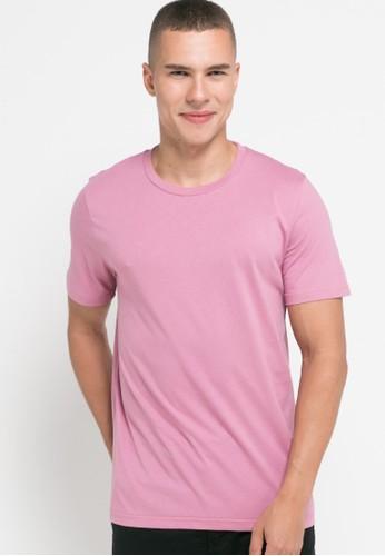 Men's Top pink ASAGI - PINK T-shirt E45B2AA8A28D2AGS_1