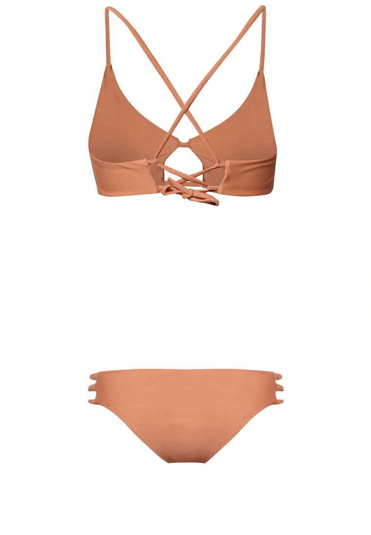 Set Brown Bikini Myn Malibu Bandeau Cutout Beachwear wqxTXgP