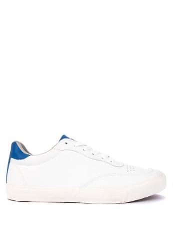 Penshoppe blue Lace-Up Sneakers 872D0SHE43E101GS_1