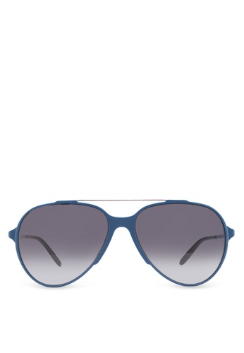Carrera blue Masculine Aviator Shape In Featherlight Lasercut Frame CA432GL06HRDMY_1
