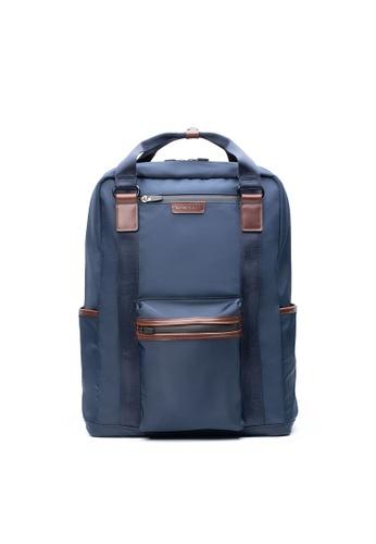 Maverick & Co. navy Maverick & Co. Ernest Convertible Nylon Backpack  - Navy C0C1DACD71D709GS_1