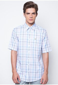 Cotton Gingham Check Plaid Shirt