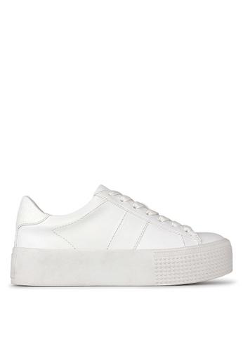 Betts white Weekend Flatform Sneakers E7F19SH8AA76C3GS_1