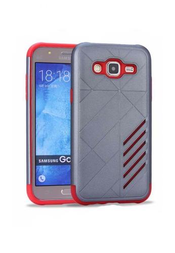 9cfb8b9a7a7 Nadjames grey Ultra Thin Shockproof Protective Hybrid TPU Cover Case for  Samsung Galaxy J7 2015 NA782AC42SBTPH 1