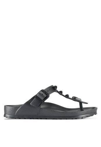 Birkenstock grey Gizeh Sandals FC7E1SH44AF86DGS_1