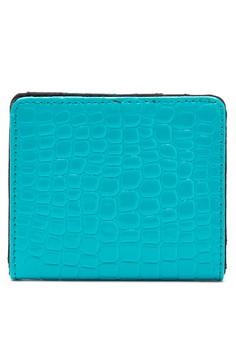Two Fold Croco Wallet