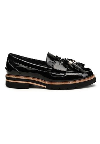 Byford black Gardenside Tassel Loafers 06144SH58DD39BGS_1