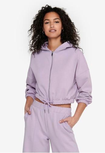 ONLY purple Scarlett Hoodie B6ADCAA1FDD241GS_1