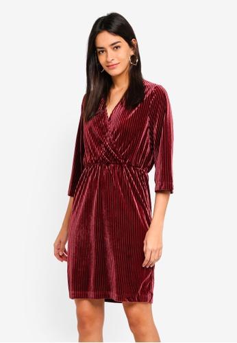 Modstrom red Janet Dress 48292AA7E2FEC3GS_1
