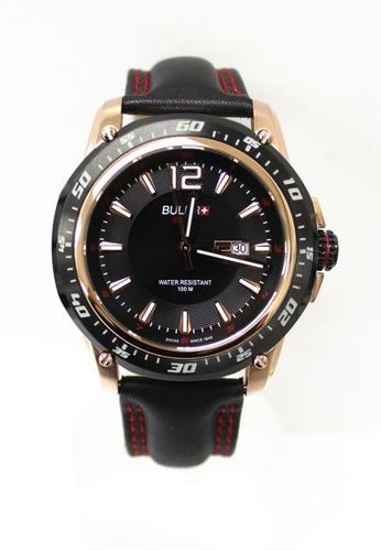 Buler black Buler Sport Watch - Black - Gents - Date - 3H BU689AC2VG15HK_1