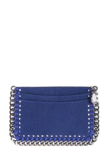 Stella Mccartney blue STELLA MCCARTNEY FALABELLA CARD HOLDER 7FE9EAC21F400DGS_1