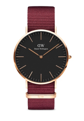Daniel Wellington gold Classic Roselyn Black 40mm Rose Gold Watch 84E6DACBCEF737GS_1