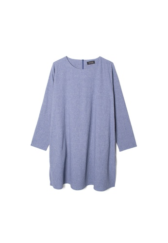 MS. READ grey Linen Tunic, - 7 Sizes (Grey) 73671AA0342AF3GS_1