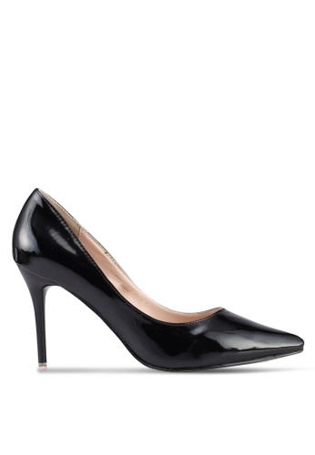 Mimosa black Shiny Pointed Toe Pumps 66939SH0C748A8GS_1