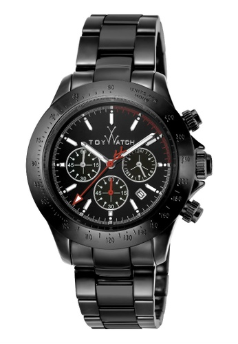 ToyWatch black ToyWatch TYCHMC01BK Men Watches : Quartz Chronograph Date Stainless Steel and Ceramic Black 391B7AC807A2DCGS_1