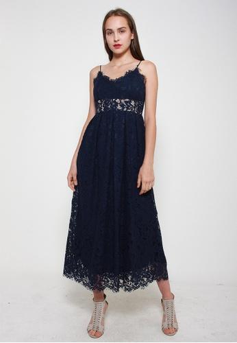 Leline Style blue Kyra Lace Dress 4AAB2AAF758D67GS_1