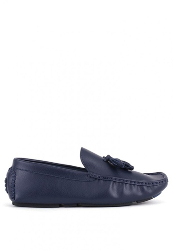 7soles navy Garret Casual Shoes 026E3SH9B066E0GS_1
