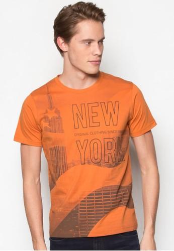 圖文設計TEE, 服尖沙咀 esprit飾, T恤