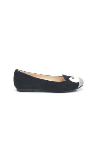Elisa Litz black Penguin Flats (Black) D2E3ASHA453C56GS_1