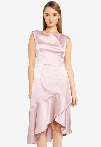 CHI CHI LONDON pink Chi Chi Truanah Dress 6E314AA184E13AGS_1