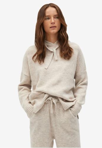 Mango grey Fine-Knit Sweater 893CCAA21D5936GS_1