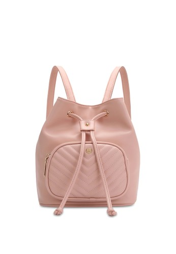 Volkswagen pink Faux Leather Convertible Backpack 4E70FAC2718A59GS_1